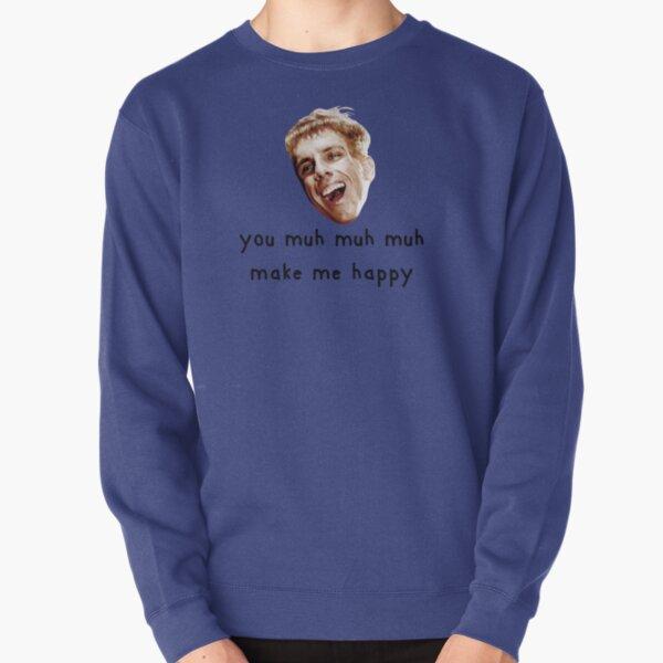 Simple Jack is happy Pullover Sweatshirt
