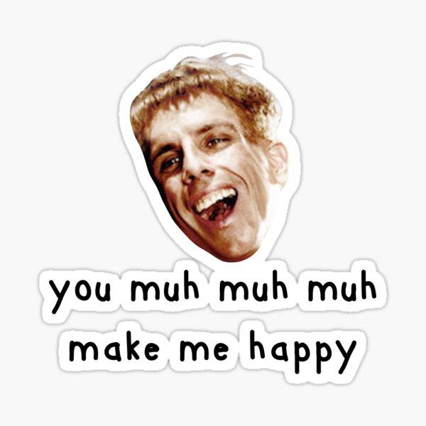 Simple Jack is happy Sticker