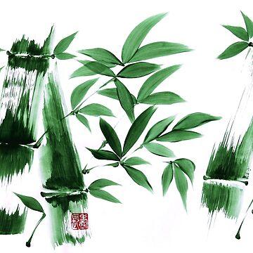 Japanese brush art by lozanoroyce