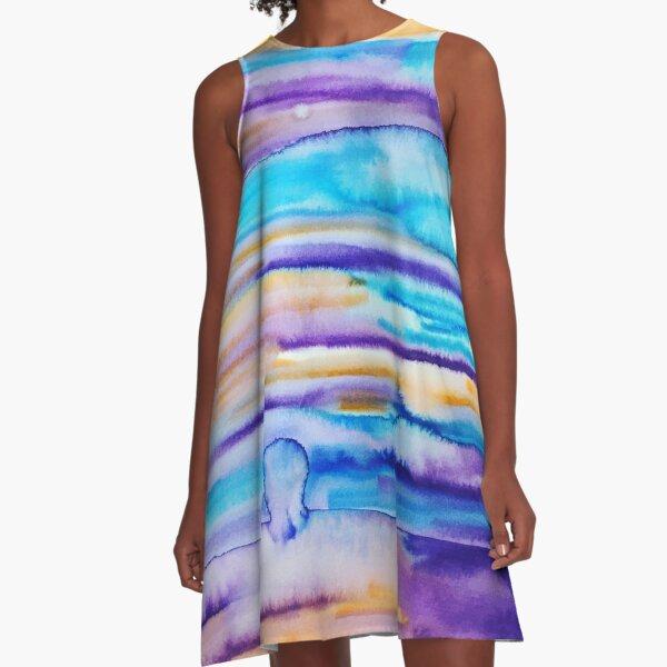 Tourmaline A-Line Dress