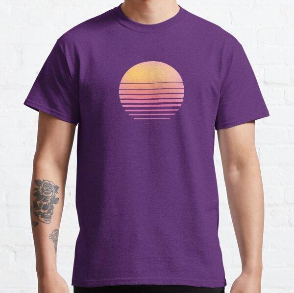 Vaporwave Sun - Outrun/Synthwave/Retro Classic T-Shirt