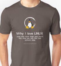 linux penguin pinguin pc nerd computer programmierer code sysadmin Unisex T-Shirt