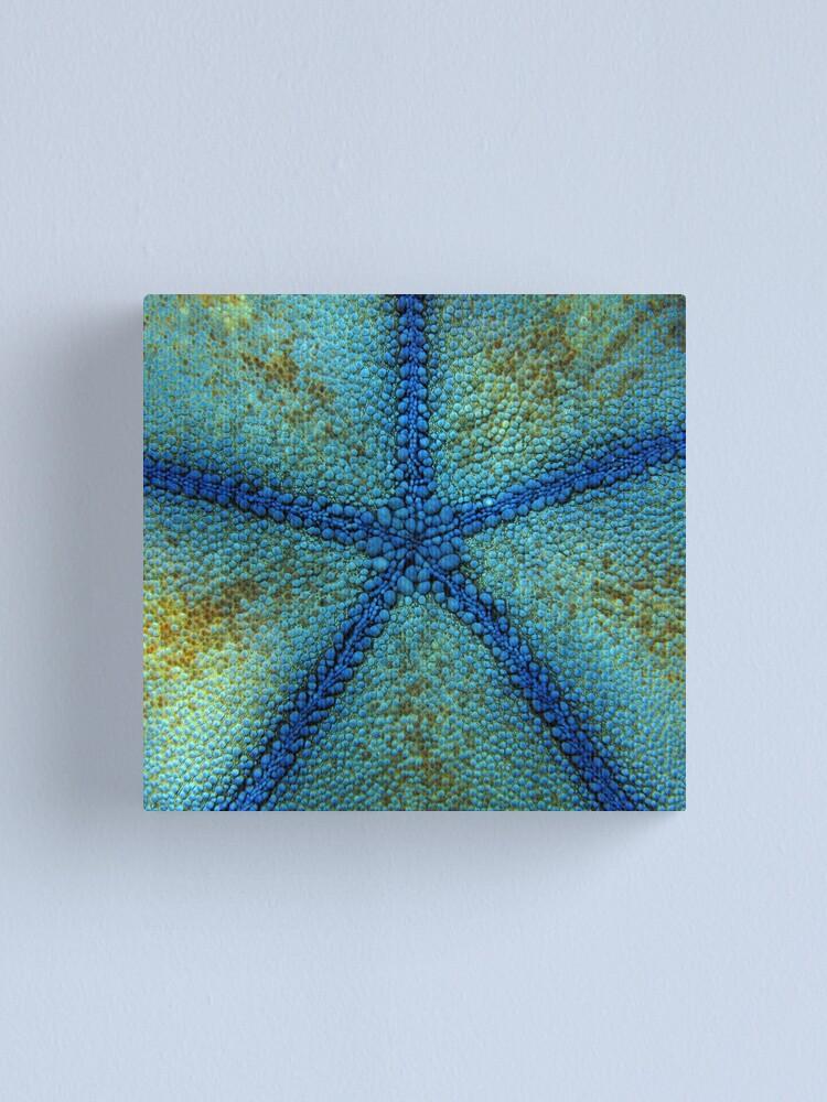 Alternate view of Pentagon Blue Canvas Print