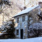 Snow Shanty in West Chester, Pennsylvania by Polly Peacock