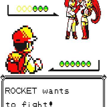 Pokemon Yellow - Rocket Battle by MonkeyDQuinn