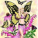 Butterfly Beauty Fairy by Alison Spokes