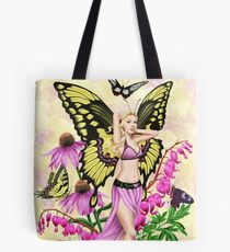Butterfly Beauty Fairy Tote Bag