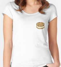 Chocolate Chip Vanilla Women's Fitted Scoop T-Shirt