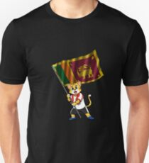 Sri Lanka fan cat Unisex T-Shirt