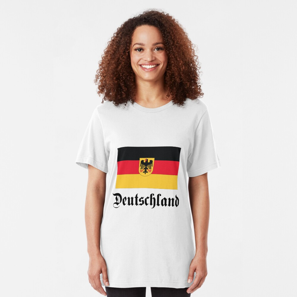 Deutschland - light tees Slim Fit T-Shirt
