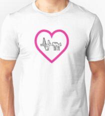 girder cow, moo love! Unisex T-Shirt