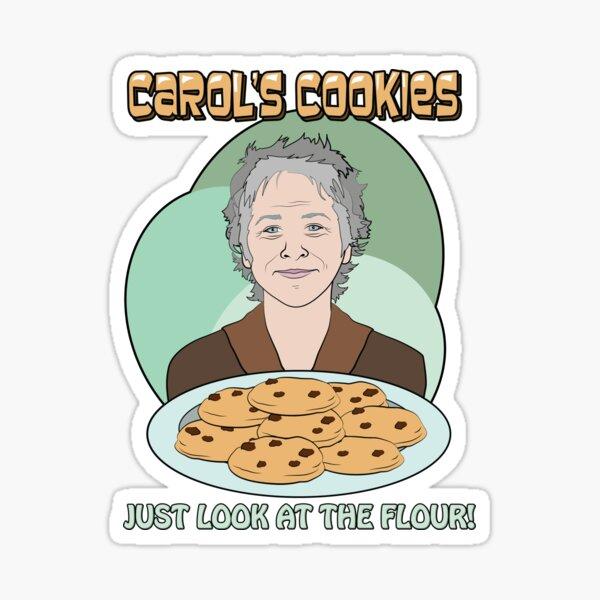 The Walking Dead Carol Cookies Sticker
