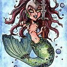 Mermaid by MadameCat-Art