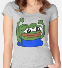 HYPERS PepeHype Women's Fitted Scoop T-Shirt