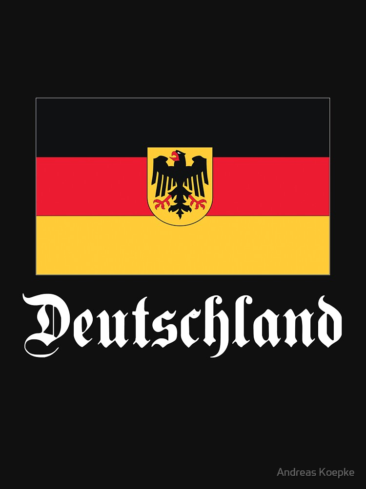 Deutschland - dark tees by mistered
