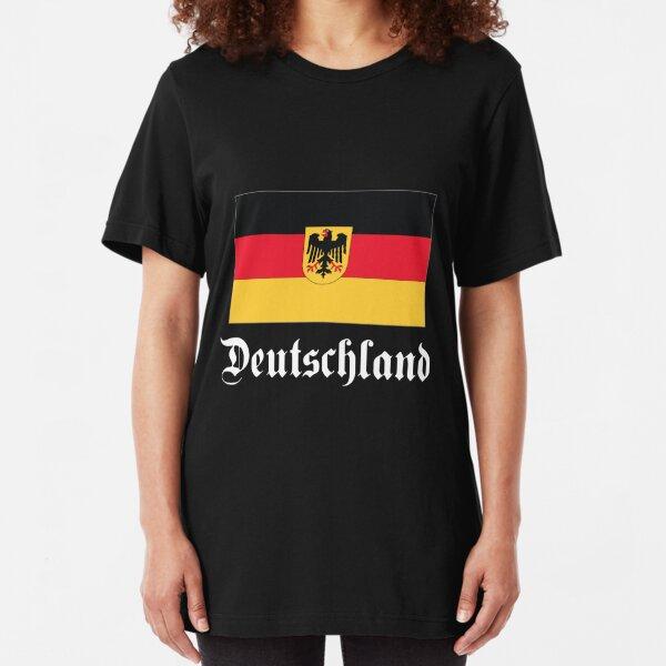 Deutschland - dark tees Slim Fit T-Shirt