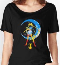 moon splash Women's Relaxed Fit T-Shirt