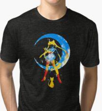moon splash Tri-blend T-Shirt