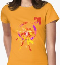 mars splash Women's Fitted T-Shirt