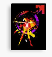 mars splash Canvas Print