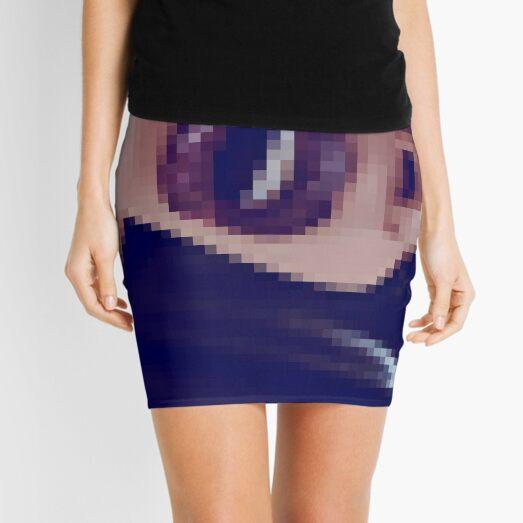 VisualPhenomena, structure, framework, pattern, composition, frame, texture, design Mini Skirt