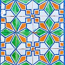 Lisbon Tiles 2 by Stephen Knowles