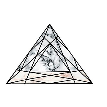 stone marble tribal triangle  by Anachan20