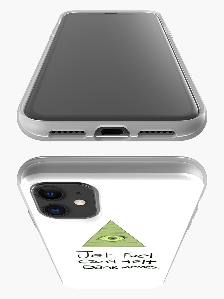 Alternate view of Jet Fuel Can't Melt Dank Memes iPhone Case & Cover