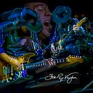 Stevie Ray Vaughan - Double Trouble by Glenn Feron