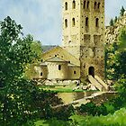 The Abbey, Prades by Mike Glaysher