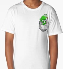 Pocket Yoshi Tshirt Long T-Shirt