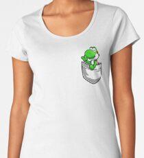 Pocket Yoshi Tshirt Women's Premium T-Shirt