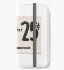 Free the Happy - Vintage Pipe Sign iPhone Wallet/Case/Skin