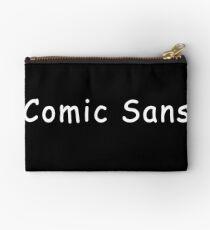 Comic Sans Studio Pouch