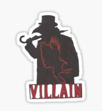 the Villain Sticker