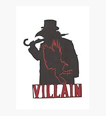 the Villain Photographic Print