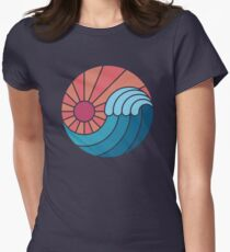 Sun & Sea Women's Fitted T-Shirt