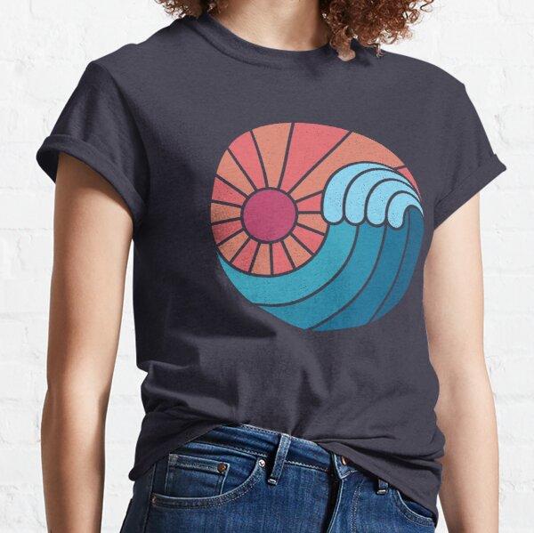 Soleil et mer T-shirt classique