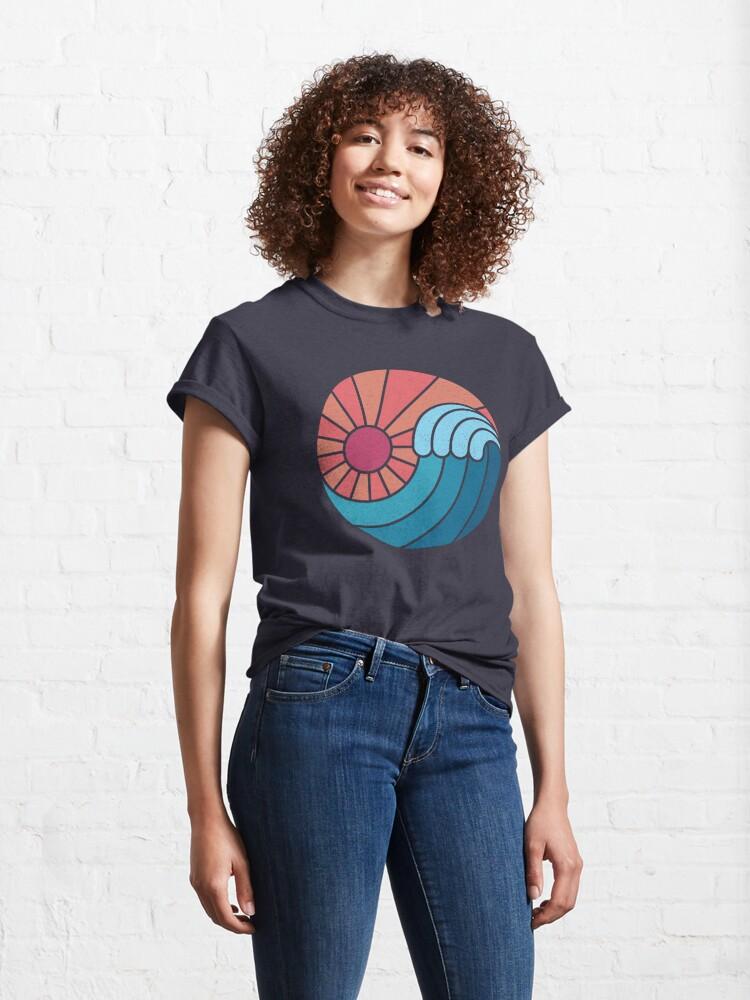 Alternate view of Sun & Sea Classic T-Shirt