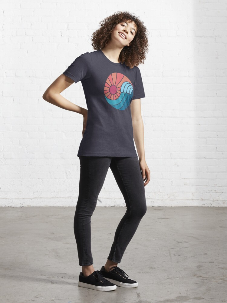 Alternative Ansicht von Sonne & Meer Essential T-Shirt