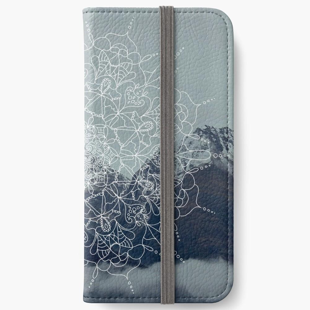 Berg Mandala iPhone Flip-Case