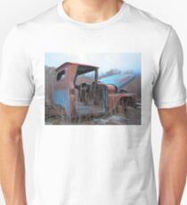 Truck in weeds c4 T-Shirt