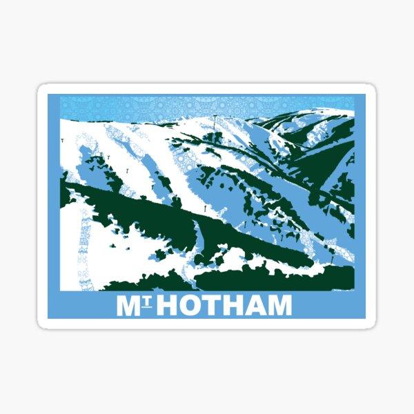Mount Hotham Sticker