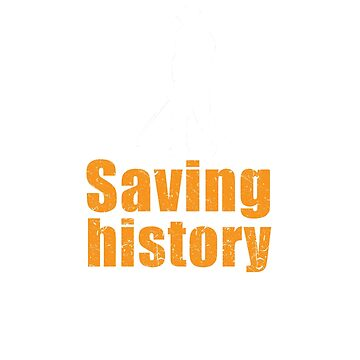 Metal detecting tshirt - saving history one pull tab at a time by Diggertees4u