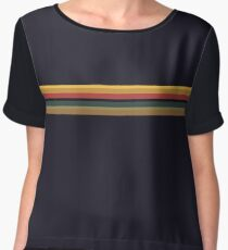 Whittaker Rainbow Top Chiffon Top