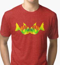 KISSING Tri-blend T-Shirt