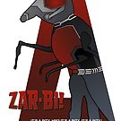 Ant-Man, Doctor Who Zarbi Edition by WhoBackWhen