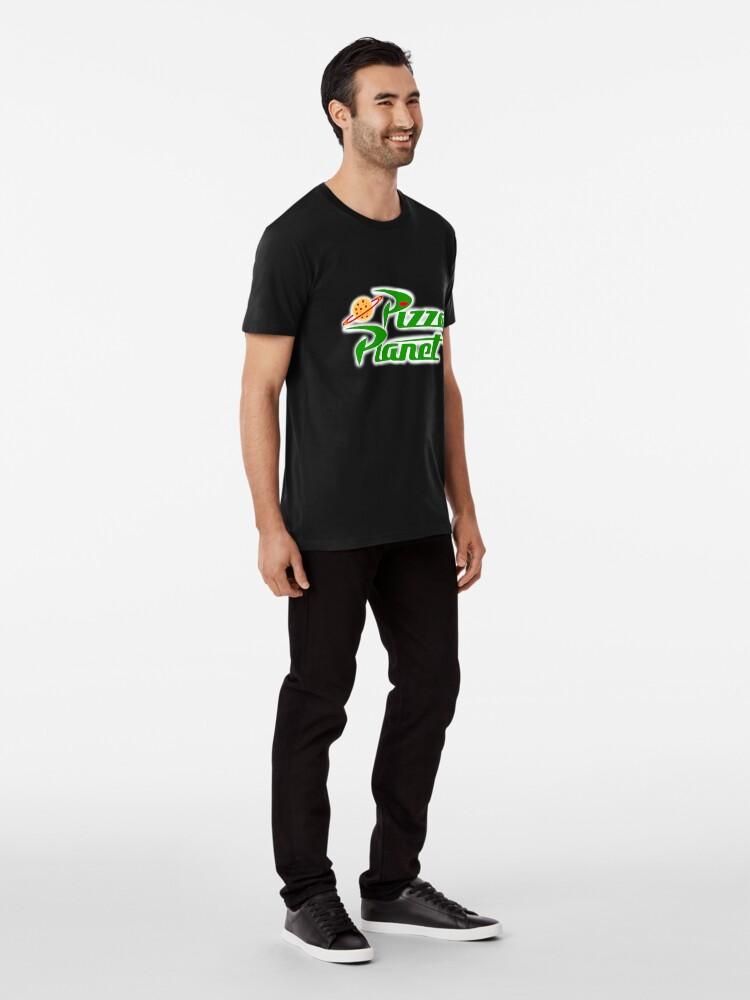Alternate view of Pizza Planet Premium T-Shirt