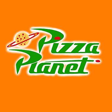 Pizza Planet by SeleneofArt