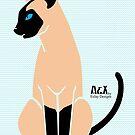 Siamese Cat by EsJayDesigns